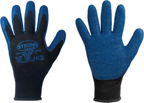 *BLUE LATEX* STRONGHAND® HANDSCHUHE