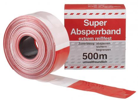 BAUSTELLEN - ABSPERRBAND 80 MM