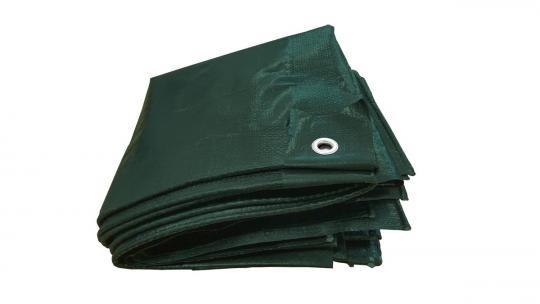 PE-tarpaulin   130g/m²   green