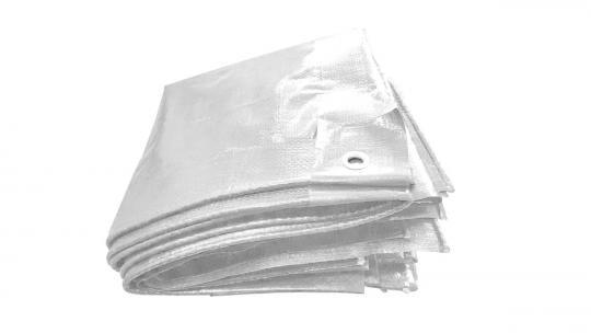 PE-tarpaulin   130g/m²   white
