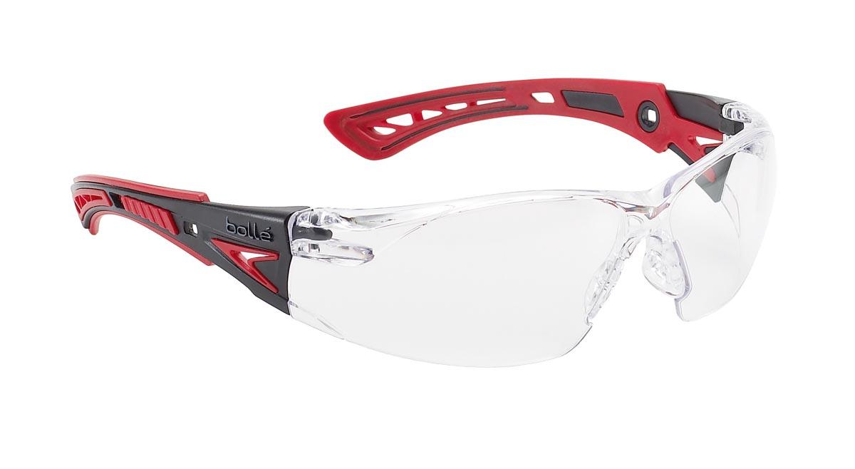6760593648  RUSH+  BOLLE® safety glasses (RUSHPPSI)